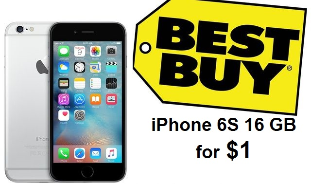 Best deals: iPhone 6S 16GB for $1 at Best Buy