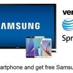 Best deal: Buy smartphone and get free Samsung TV