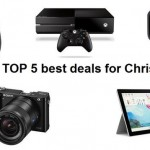 TOP 5 best deals for Christmas: Surface 3, Xbox One, GoPro and other